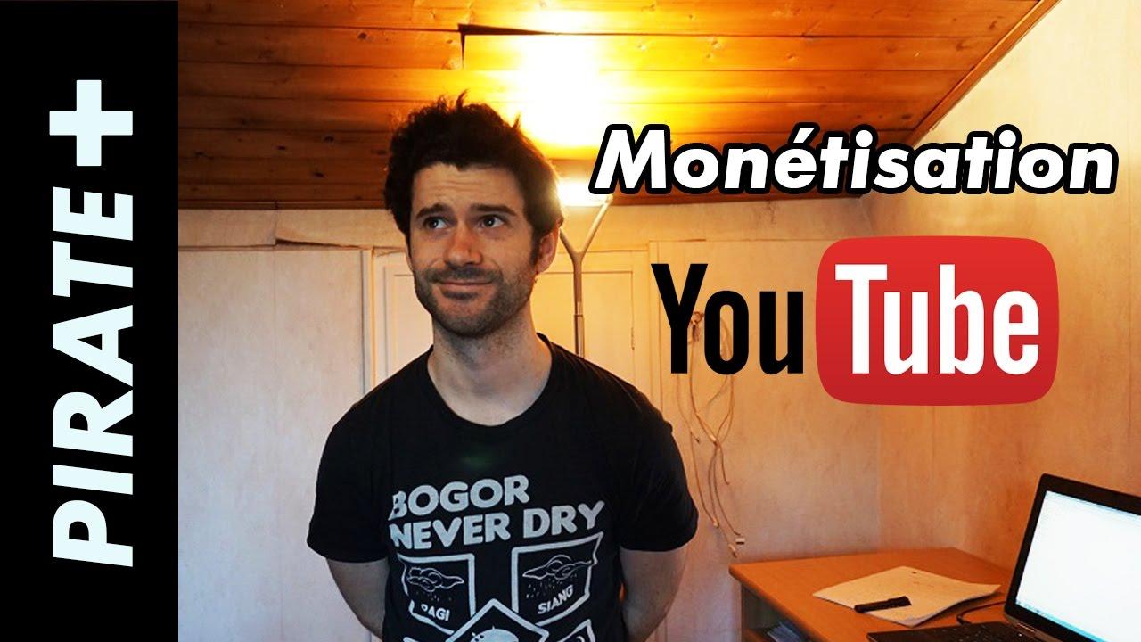 Oublie la monétisation Youtube