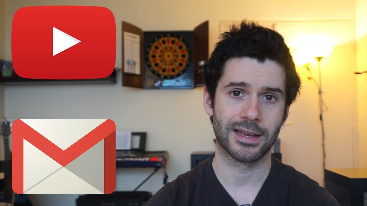 captuer des emails avec youtube