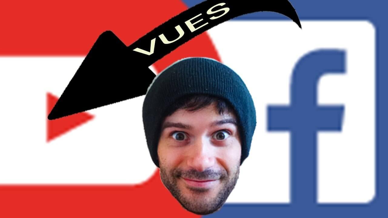 Plus de vues sur Youtube grâce à Facebook